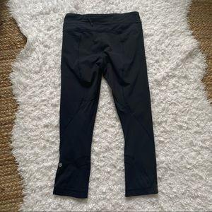 Lululemon Cropped Black Leggings Size 4
